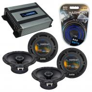 Compatible with Acura RSX Type S 2002-2006 Factory Speaker Replacement Harmony (2)R65 & Harmo...