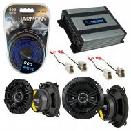 Compatible with Audi 400 Series 1980-1987 Factory Speaker Replacement Kicker DSC4 DSC5 & Harm...