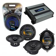 Compatible with Audi A8 1997-2008 Factory Speaker Replacement Harmony R5 R65 & Harmony HA-A40...