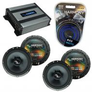 Compatible with BMW 3 Series 2006-2013 Factory Speakers Replacement Harmony (2)C65 & Harmony ...