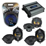 Compatible with BMW 328 1997-2001 Factory Speaker Replacement Harmony (2)R68 R5 & Harmony HA-...