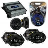 Compatible with BMW 328 1997-2001 Factory Speaker Replacement Kicker (2)DSC68 DSC5 & Harmony ...