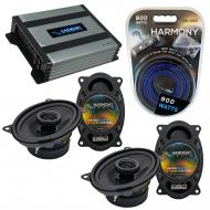 Compatible with BMW 5 Series 1979-1989 Factory Speaker Replacement Harmony (2)R46 & Harmony H...