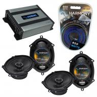 Compatible with BMW 5 Series 1990-1996 Factory Speaker Replacement Harmony (2)R68 & Harmony H...
