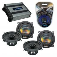 Compatible with BMW 5 Series 1997-2008 Factory Speaker Replacement Harmony (2) R5 & Harmony H...