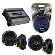 Compatible with BMW 5 Series 1997-2008 Factory Speaker Replacement Kicker (2) DSC5 & Harmony ...