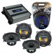 Compatible with BMW X3 2004-2010 Factory Speaker Replacement Harmony (2) R5 & Harmony HA-A400...