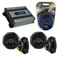 Compatible with BMW X3 2004-2010 Factory Speaker Replacement Kicker (2) DSC5 & Harmony HA-A40...