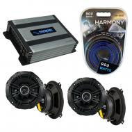Compatible with BMW Z3 1997-2002 Factory Speaker Replacement Kicker (2) DSC5 & Harmony HA-A40...