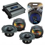 Compatible with BMW Z3 1997-2002 Factory Speakers Replacement Harmony (2) C5 & Harmony HA-A400.4