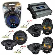 Compatible with Buick Electra 1984-1990 Factory Speaker Replacement Harmony Speakers & Harmon...