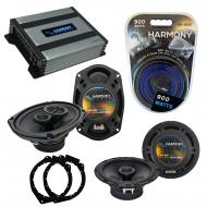 Compatible with Buick Lucerne 2006-2011 OEM Speaker Replacement Harmony R65 R69 & Harmony HA-...