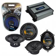 Compatible with Audi A4 1996-2008 Factory Speaker Replacement Harmony R5 R65 & Harmony HA-A40...