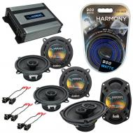 Compatible with Buick Park Avenue 97-05 OEM Speaker Replacement Harmony (2) R5 R69 & Harmony ...