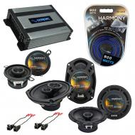 Compatible with Buick Regal 1984-1987 Factory Speaker Replacement Harmony Replacement & Harmo...