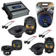 Compatible with Buick Regal 1988-1994 OEM Speaker Replacement Harmony Speakers & Harmony HA-A...