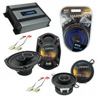 Compatible with Buick Skyhawk 1982-1989 OEM Speaker Replacement Harmony R35 R69 & Harmony HA-...