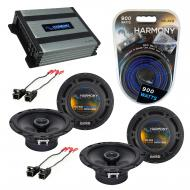 Compatible with Buick Terraza 2005-2008 Factory Speaker Replacement Harmony (2) R65 & Harmony...