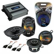 Compatible with Cadillac Cimarron 82-88 OEM Speaker Replacement Harmony R35 R69 & Harmony HA-...