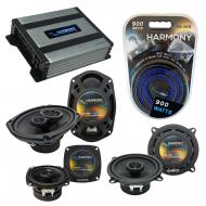Compatible with Cadillac Coupe DeVille 85-87 OEM Speaker Replacement Harmony Speakers & Harmo...