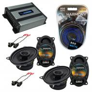 Compatible with Cadillac Coupe DeVille 88-89 OEM Speaker Replacement Harmony Speakers & Harmo...