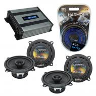Compatible with Cadillac DTS 2006-2011 Factory Speaker Replacement Harmony (2) R5 & Harmony H...