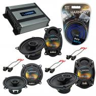 Compatible with Cadillac Coupe DeVille 90-93 OEM Speaker Replacement Harmony Speakers & Harmo...