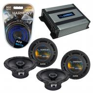 Compatible with Cadillac SRX 2007-2009 Factory Speaker Replacement Harmony (2)R65 & Harmony H...