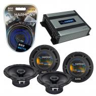 Compatible with Cadillac STS 2005-2011 Factory Speaker Replacement Harmony (2)R65 & Harmony H...