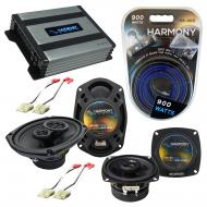 Compatible with Chevy Beretta 1988-1990 Factory Speaker Replacement Harmony R4 R69 & Harmony ...