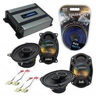 Compatible with Chevy Celebrity 1984-1990 OEM Speaker Replacement Harmony R46 R69 & Harmony H...