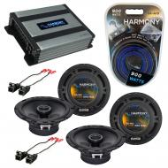 Compatible with Chevy Colorado 2004-2012 Factory Speaker Replacement Harmony (2) R65 & Harmon...
