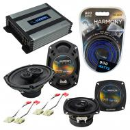 Compatible with Chevy Corsica 1988-1990 Factory Speaker Replacement Harmony R4 R69 & Harmony ...