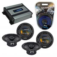 Compatible with Chevy Equinox 2007-2009 Factory Speaker Replacement Harmony (2) R65 & Harmony...