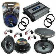 Compatible with Chevy HHR 2006-2012 OEM Speakers Replacement Harmony C65 C69 & Harmony HA-A40...