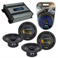 Compatible with Chevy Prizm 1998-2003 Factory Speaker Replacement Harmony (2) R65 & Harmony H...