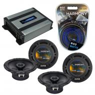 Compatible with Chevy Uplander 2005-2008 Factory Speaker Replacement Harmony (2) R65 & Harmon...