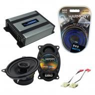 Compatible with Chevy Van (Full Size) 1986-1987 OEM Speaker Replacement Harmony R46 & Harmony...