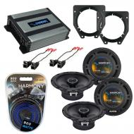Compatible with Chevy Van Express 2003-2007 OEM Speaker Replacement Harmony (2) R65 & Harmony...