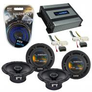 Compatible with Chrysler Aspen 2007-2007 Factory Speaker Replacement Harmony (2) R65 & Harmon...