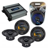 Compatible with Chrysler Aspen 2008-2009 Factory Speaker Replacement Harmony (2) R65 & Harmon...