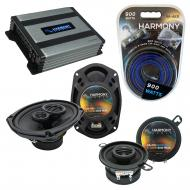 Compatible with Chrysler Cordoba 1975-1983 OEM Speaker Replacement Harmony R35 R69 & Harmony ...