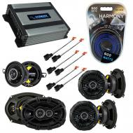 Compatible with Chrysler LHS 1995-1998 Speaker Replacement Kicker DS Package & Harmony HA-A40...
