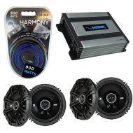 Compatible with Daewoo Leganza 1999-2002 Factory Speaker Replacement Kicker (2) DSC65 & Harmo...