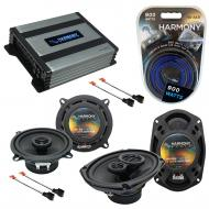 Compatible with Dodge Caravan 2001-2001 Factory Speaker Replacement Harmony R5 R69 & Harmony ...