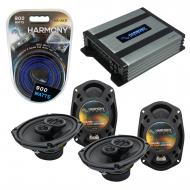 Compatible with Dodge Charger 2005-2010 Factory Speaker Replacement Harmony (2) R69 & Harmony...