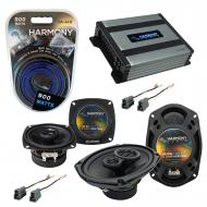 Compatible with Dodge Colt 1993-1994 Factory Speaker Replacement Harmony R4 R69 & Harmony HA-...