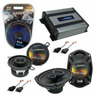 Compatible with Dodge Diplomat 1984-1989 OEM Speaker Replacement Harmony R35 R69 & Harmony HA...