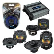 Compatible with Dodge Intrepid 1993-1997 Factory Speaker Replacement Harmony Speakers & Harmo...