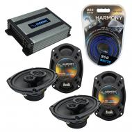 Compatible with Dodge Journey 2009-2010 Factory Speaker Replacement Harmony (2) R69 & Harmony...